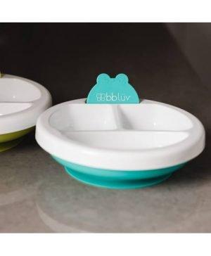 BBLuv Plato - Warm Feeding Plate - Aqua