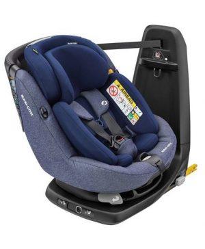 Maxi Cosi Axissfix Plus Car Seat - Sparkle Blue