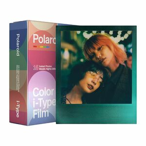 Polaroid Color Film for I Type Metallic Nights Double Pack