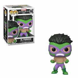 Funko Pop Marvel Luchadores El Furioso Hulk Vinyl Figure