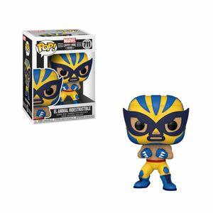 Funko Pop Marvel Luchadores El Animal Indestructible Wolverine Vinyl Figure