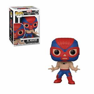 Funko Pop Marvel Luchadores El Aracno Spiderman Vinyl Figure