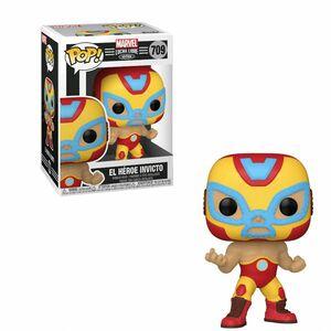 Funko Pop Marvel Luchadores El Heroe Invicto Iron Man Vinyl Figure