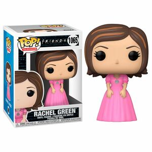 Funko Pop TV Friends Rachel In Pink Dress Vinyl Figure