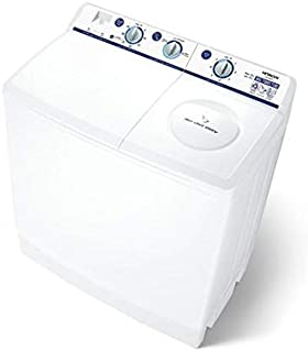 Hitachi Top Load Semi Automatic Washing Machine 14 KG PS1405SJ3CGXWH White