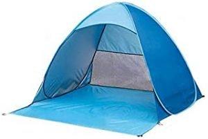 Portable Outdoors Beach Tent Automatic Pop Up Anti UV Beach Tent