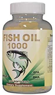Fish Oil Omega-3 Soft Gel Capsules