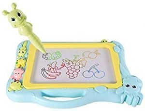 Magnetic Drawing Board 12.7 Inch Drawing Area Colorful Magna Drawing Doodle Board for Kid Learning (12.7 inch