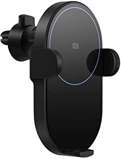 Xiaomi Wireless Car Charger 20W Max Power Inductive Electric Clamp Arm Double Heat Dissipation 2.5D Crystal Light Charging