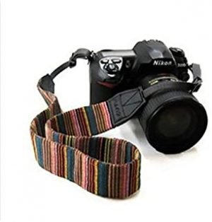 Camera Neck Strap for SLR DSLR Color stripes