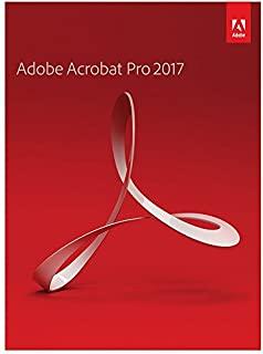 Adobe Acrobat Pro 2017 (new) Mac/Windows