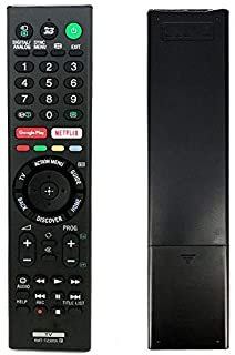 Nano Classic Replacement Sony RMT-TZ300P Remote Control for Sony Smart TV with Googleplay Netflix REC Button 3D Blu-ray Fernbedienung Replace RMT-TX300U