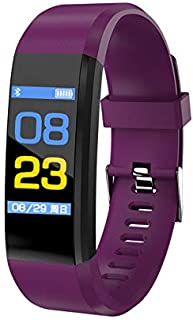 Smart Bracelet Sport Bluetooth Wristband Heart Rate Monitor Watch Activity Fitness Tracker Smart Band 115plus