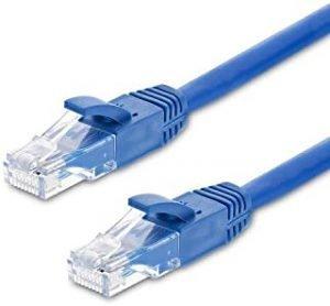 S-TEK RJ45 CAT6 ETHERNET PATCH INTERNET CABLE BLUE (2 MTR)