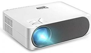 Ningshine AUN AKEY6 5.8 inch 5500 Lumens 1920x1080P Portable HD LED Projector with Remote Control