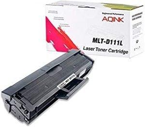 AQINK 1-Pack (1800 Pages) MLT-D111L D111S M2022 Compatible Toner Cartridge Replacement for Samsung Xpress SL-M2020 M2020W M2021 M2021W M2022 M2022W M2026 M2026W M2070 M2070W M2070FW M2070F M2071