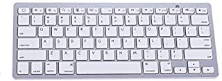 SKEIDO Bluetooth 3.0 Wireless 2.4GHz Keyboard for Apple iPad-1 1 2 3 4 Mac Computer PC Mac Tablets Laptops