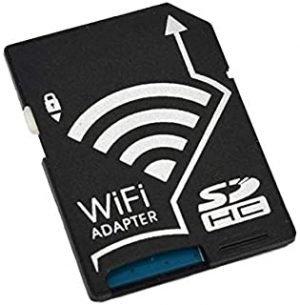 SKEIDO Wifi SD Card Adapter Micro SD MicroSD TF Converter for SONY Canon Nikon Cameras Photos Wirelessly to Phone Tablets