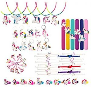 60 Pcs Unicorn Party Favors