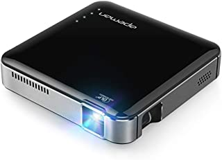 APEMAN Projector Mini Portable Video DLP Pocket Projector for Home and Outdoors Entertainment