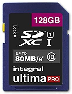 Integral INSDX128G10-80U1 UltimaPro 128 GB Class 10 SDXC Memory Card