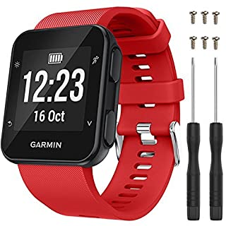 Replacement Wristband Strap for Garmin Forerunner GPS Running Watch 35 Band