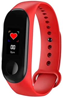 M3 Pro Smart Band Watch Waterproof Fitness Tracker Blood Pressure Heart Rate Monitor Smart Bracelet Watch for All Androids and iOS Phone/Tablet