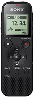 Sony Digital Voice Recorder with Built-in USB - Black