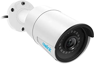 Reolink 5MP PoE Camera Outdoor/Indoor Video Surveillance Home IP Security IR Night Vision Motion Detection Audio Support w/SD Card Slot RLC-410-5MP …