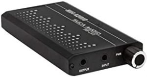 Douself Aluminum Portable Headset Amplifier HiFi Audio Headphone Amplifier Sound Improver AMP 1000mAh with 3.5mm Port
