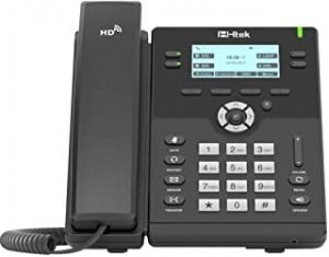 Htek LCD IP Phone with Graphical Screen and Backlight
