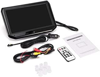 Qiilu 9in 1080P Car Headrest MP5 Auto Entertainment Multimedia Video Player