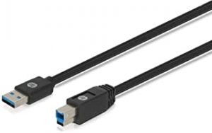 HP Printer Cable 1.5m USB-B to USB-A V3.0 For Inkjet and Laser Printers All-in-one Printers