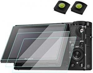 ZV1 Screen Protector for Sony ZV-1 zv1 Camera & Hot Shoe Cover