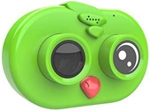 Cute Kids Children Camera 12MP 1080P Full HD Mini Digital Camera 2.0 Inch IPS HD Screen with Continuous Motion Loop Recording Exposure Functions