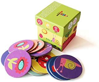 Spring Colors Memory Cards Game (3 years+) - Curiosity