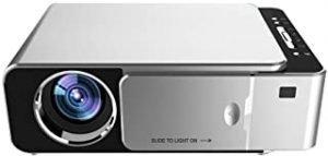 suzicca LCD T6 Smart Wifi Projector Support 1080p HD LED Portable Mini Projector Video For Home Theater Game Movie Cinema EU Plug