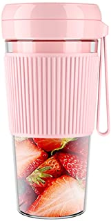 280ml Juicer Moniclern 280ml Mini Portable Juicer Electric Fruit USB Rechargeable Smoothie Maker Blender Machine Sports Mini Food Bottle Juicing Cup