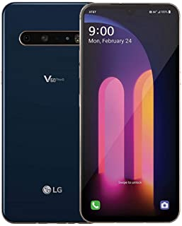 LG V60 ThinQ 5G LM-V600AM 128GB Unlocked Classy Blue Single Sim Smartphone