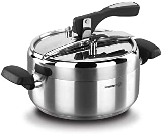 korkmaz Turbo Stainless Steel Pressure Cooker Silver A155