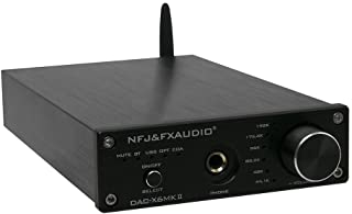 FX-AUDIO X6MKII Digital to Analog Converter BT5.0 Headphone Amplifier Car Audio Amplifier