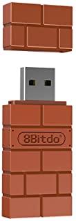 8Bitdo Wireless BT adapter for Nintendo Switch Windows Mac and Raspberry Pi USB Wireless Receiver