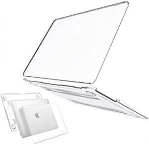 Laptop Hard Shell Case Compatible with MacBook Air 13 inch 2020 2019 2018 Release A2179 A1932 Models Plastic Crystal Clear Protective Skin Case Cover (Air 13)