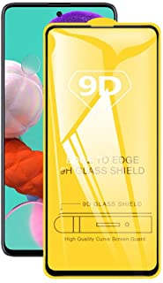 9D Tempered Glass For Samsung Galaxy A21S Full Glue Screen Protector