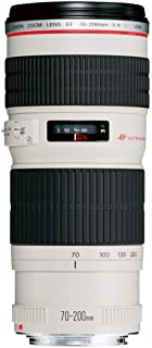 Canon EF 70-200mm f/4 L USM Lens - White