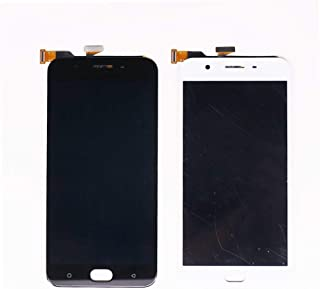 For OPPO F1S A1601 A59 LCD Display Touch Screen Digitizer Panel Glass Mobile Phone Spare Parts (Color : Black