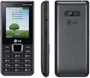 LG A395 Quad (4) Sim Simfree Mobile phone - Black