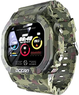 LOKMAT Multi Function Smart Watch & Fitness Tracker Ocean Edition (Camouflage)