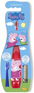 Peppa Pig Children's Electric Toothbrush with Two Heads and Battery Included 100 g