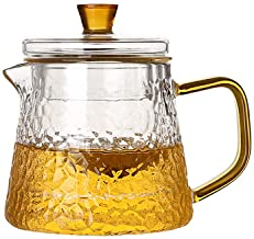 Borosilicate Glass Stove Top Whistling Tea Kettle - Best BPA Free Whistling Tea Kettle - Best Glass Tea Kettle